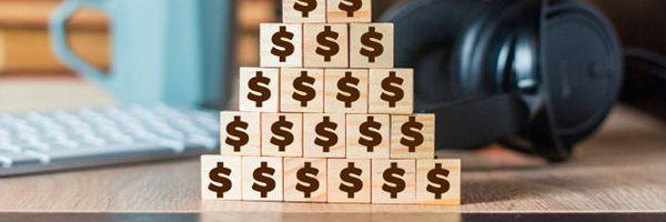 4 passos para processar uma pirâmide financeira?