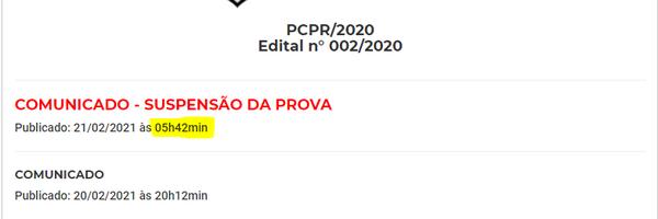 [MODELO] Ação de indenização por danos materiais e morais em face da UFPR e do Estado do Paraná pela suspensão do concurso da PC/PR.