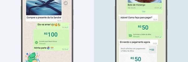 Perigos e vantagens: WhatsApp vai permitir enviar e receber dinheiro pelo aplicativo