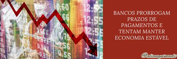 CORONAVÍRUS, economia e dívidas – Entenda o que está sendo feito para EVITAR prejuízos financeiros