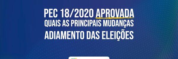 Principais alterações da PEC do adiamento das eleições