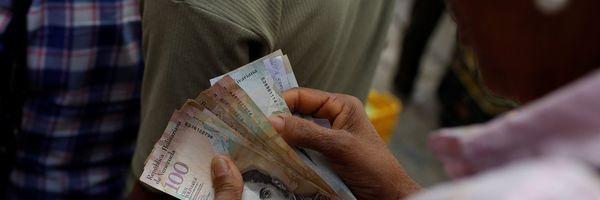 FMI projeta inflação de 1.000.000% na Venezuela para 2018