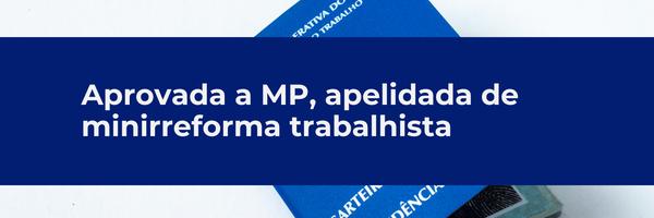 MP retira direitos sagrados dos trabalhadores
