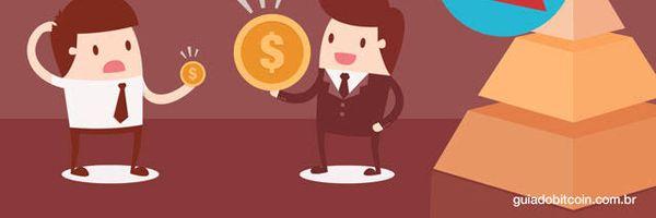 Pirâmide financeira com bitcoin: como agir?