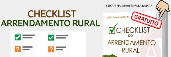 CheckList do Arrendamento Rural