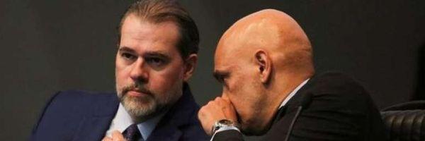 Senador apresenta pedido de impeachment de Toffoli e Moraes