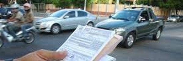 [Modelo] Conversão de multa de trânsito em advertência