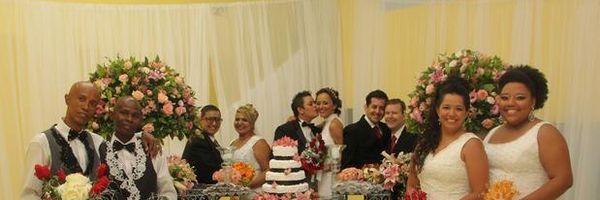 Igreja evangélica realiza casamento coletivo gay em SP