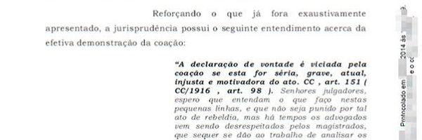 Advogado escreve receita de pamonha na petição para provar que juiz não lê os autos
