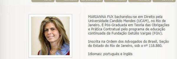 Marianna Fux é a nova Desembargadora do TJ/RJ