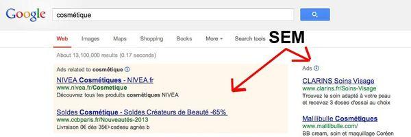 Concorrência desleal em anúncios patrocinados na internet