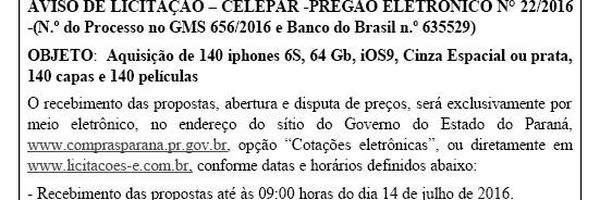A farra com o dinheiro público no Paraná de Beto Richa (PSDB) não encontra limites - nem na crise!