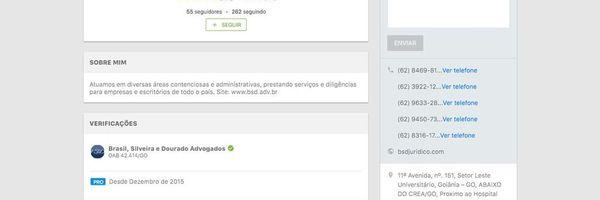 Novo perfil Jusbrasil! :)