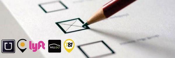 Consulta pública sobre aplicativos de carona no Senado. Já registrou seu voto?