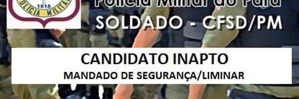 Candidato Inapto - PM/PA 2016