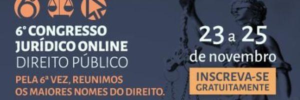 Ao Vivo: assista ao 6º Congresso Jurídico Online