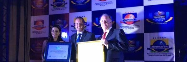 Cartório Mário Ferrari é Diamante no Prêmio de Qualidade Total Anoreg 2016