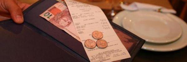 Gorjeta é incorporada a salário e passa a ser tributada como tal
