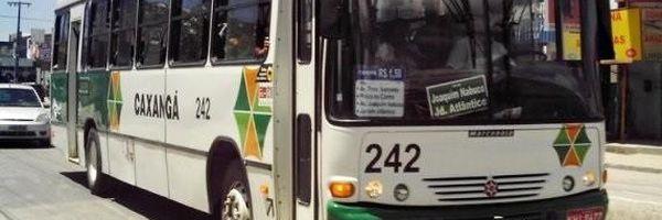 Na Paralisação dos funcionários da Empresa de Ônibus Caxangá