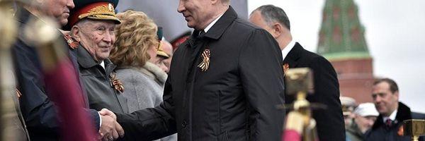 Putin: 'Não esqueceremos que liberdade da Europa e paz foram conquistas dos nossos pais'