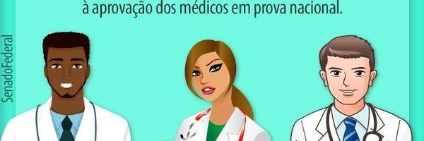 Projeto cria Exame de Ordem para Médicos