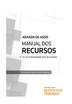 Manual dos Recursos - Edição 2017