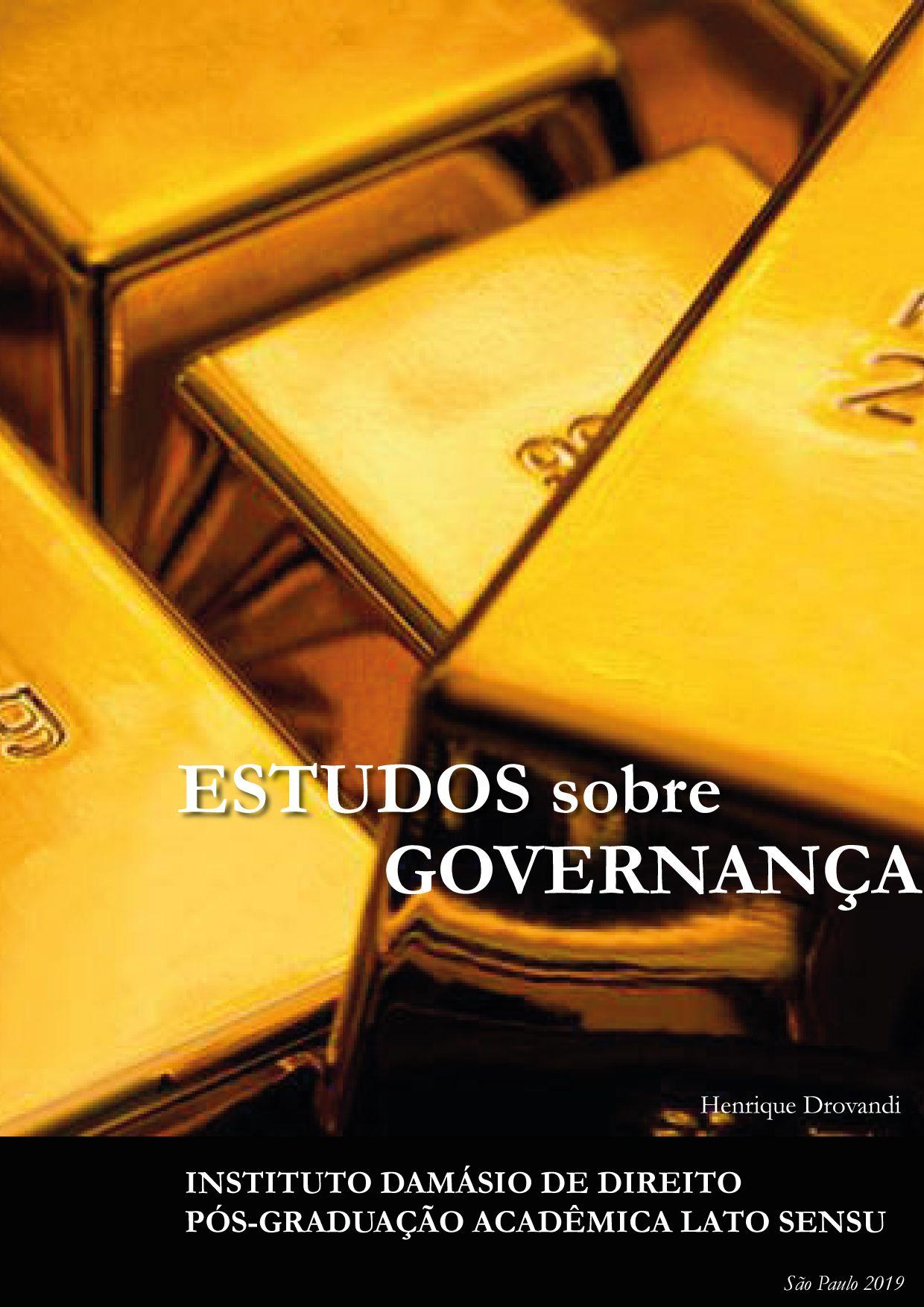 Estudos sobre Governança