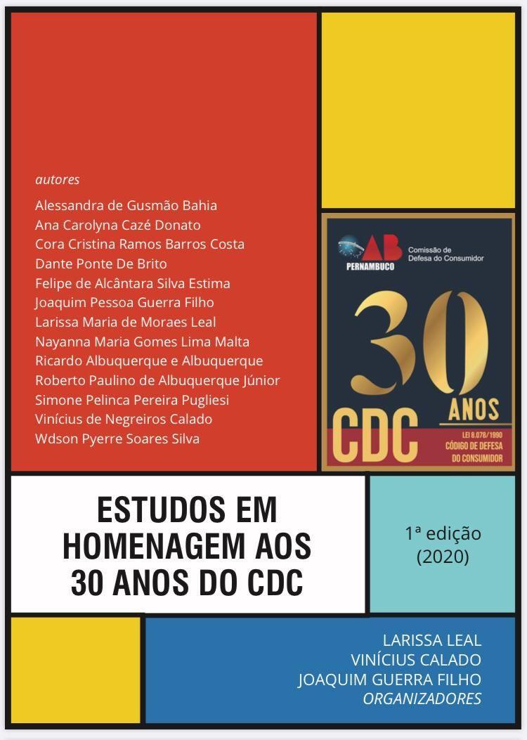Estudos em Homenagem aos 30 anos do CDC