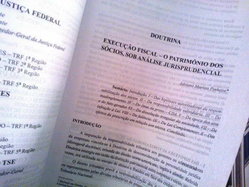 Execução Fiscal - O patrimônio dos sócios, sob análise jurisprudencial