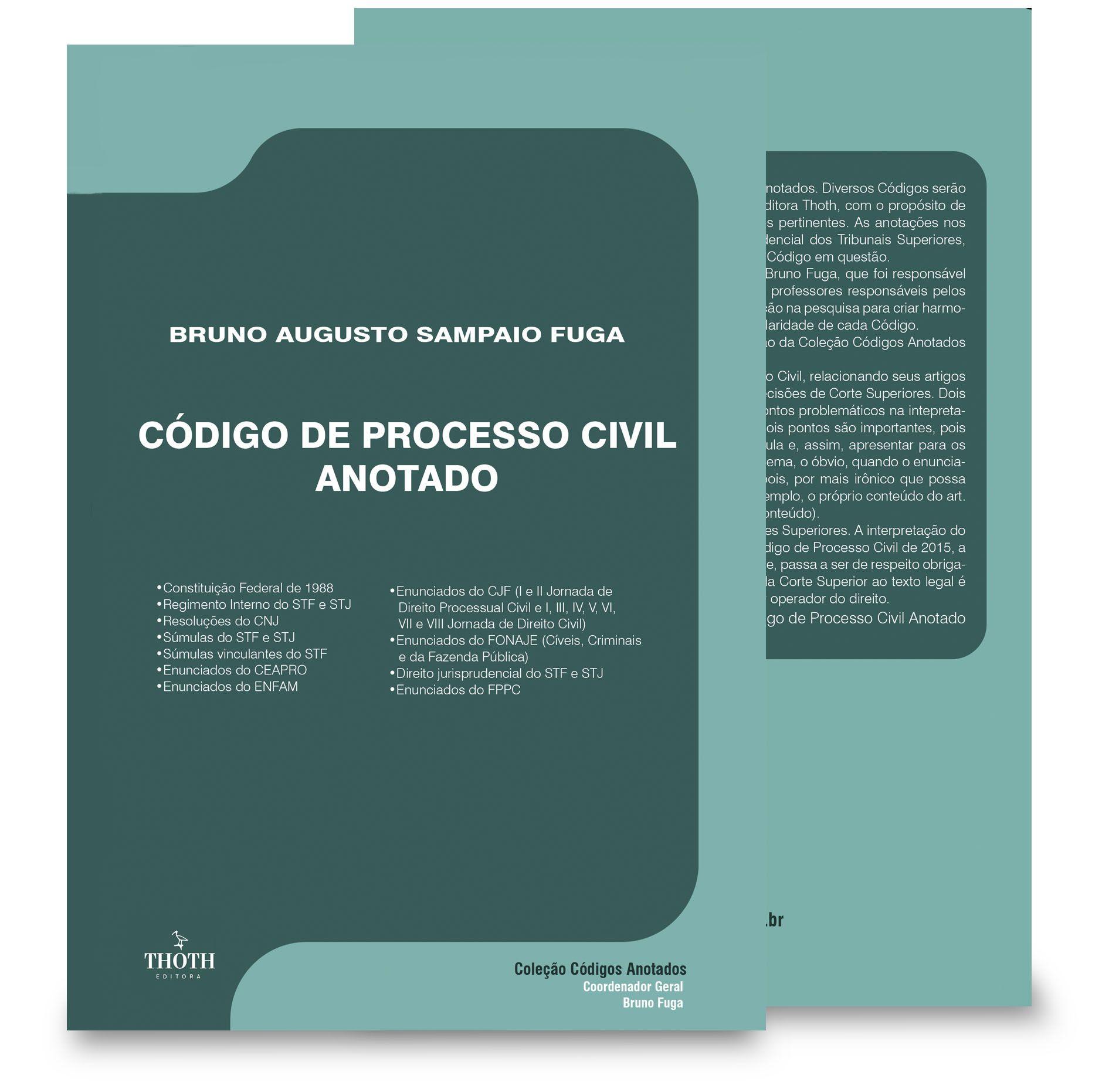 Código de Processo Civil Anotado