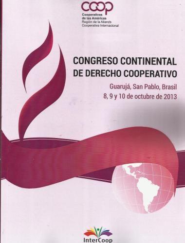 Anales del Congreso Continental de Derecho Cooperativo