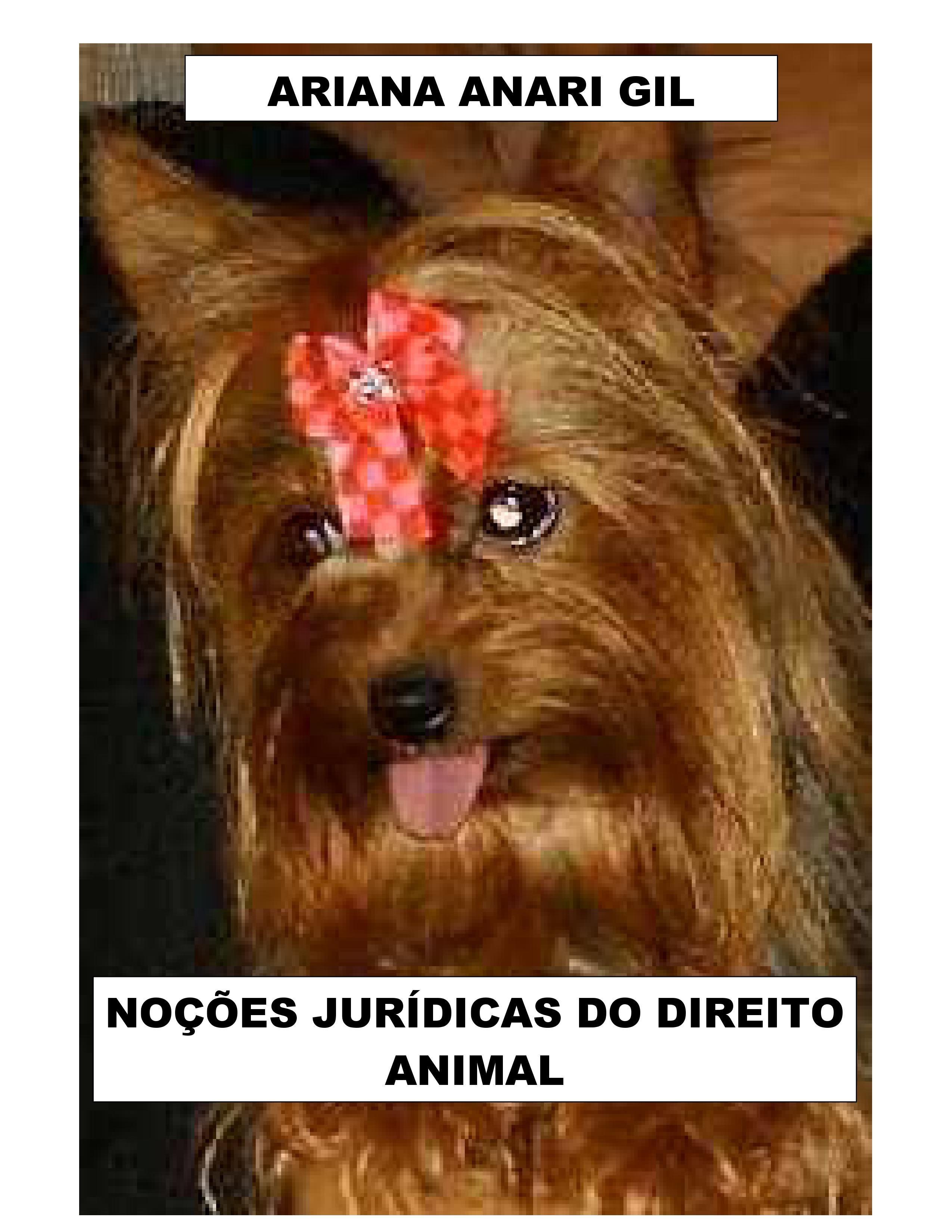 Noções Jurídicas do Direito Animal