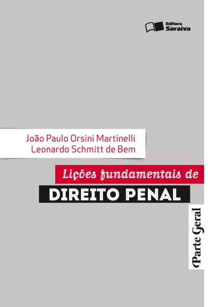 Lições Fundamentais de Direito Penal, parte geral