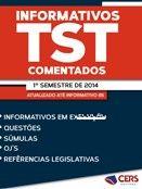 Informativos do TST Comentados e Organizados por assunto - EBOOK