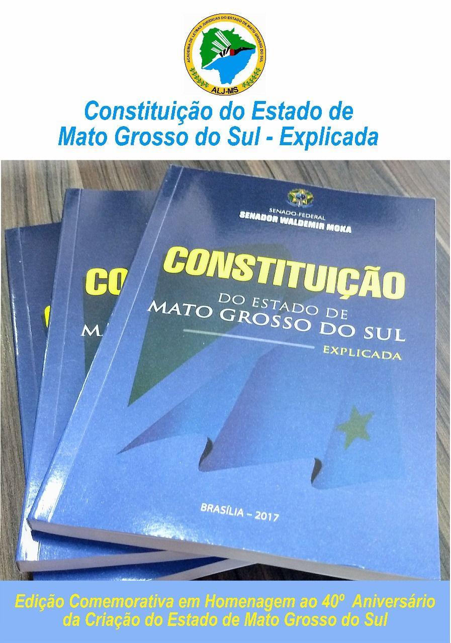 Constituição do ESTADO DE MATO GROSSO DO SUL- EXPLICADA
