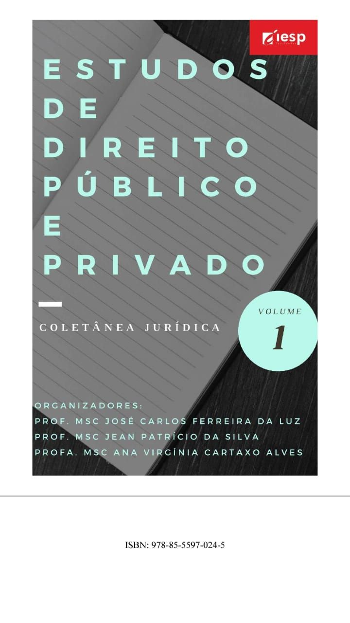 Estudos de Direito Público e Privado: Coletânea Jurídica. Vol. 1