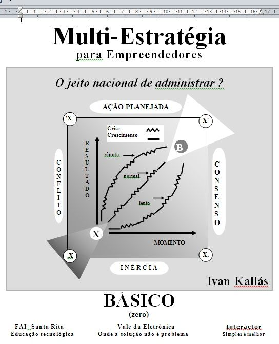 Multi Estrategia para Empreendedores - O Jeito Brasileiro.