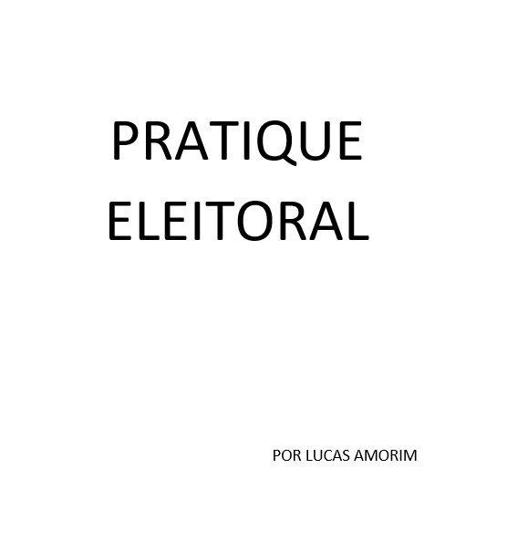 Pratique Eleitoral