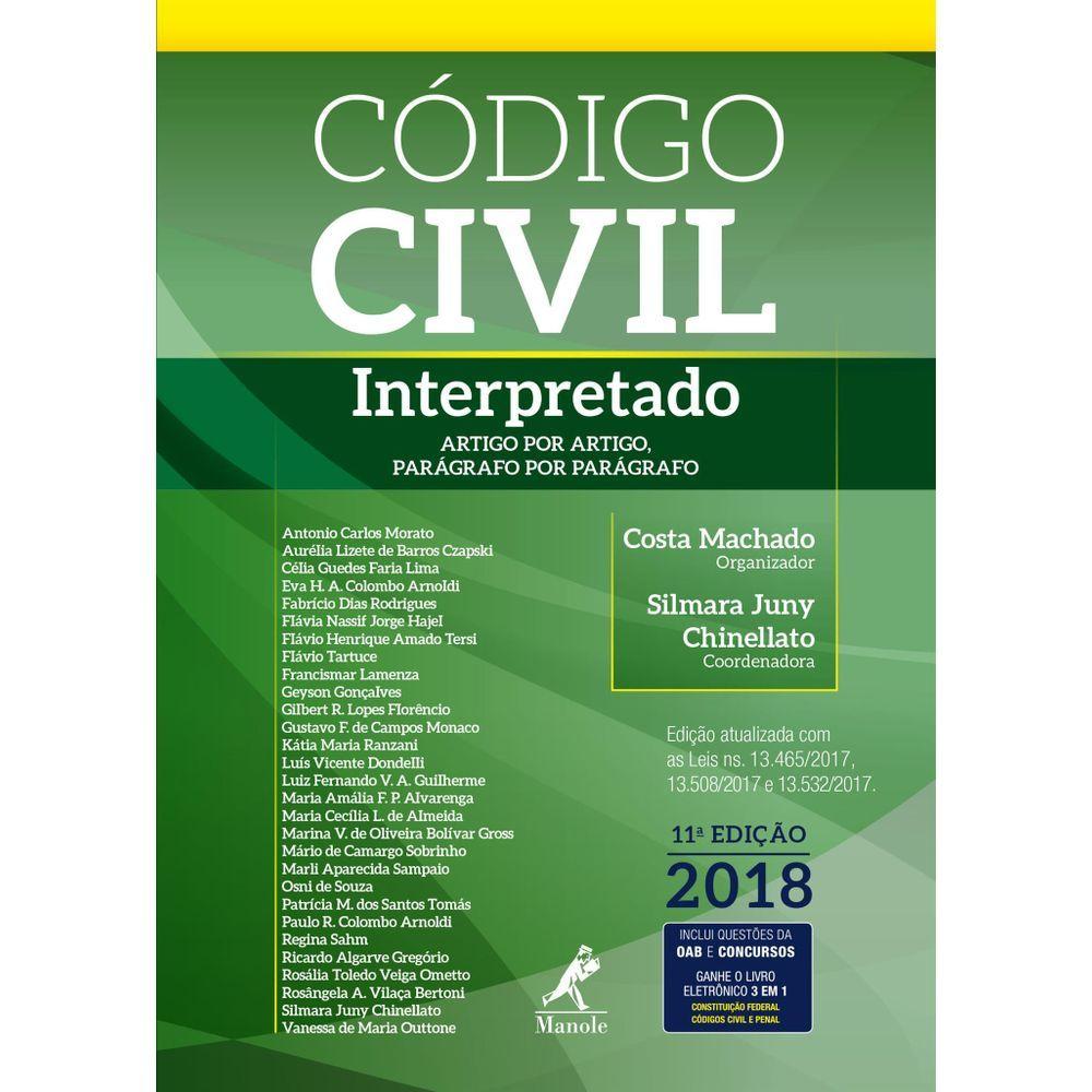 Código Civil Interpretado: artigo por artigo, parágrafo por parágrafo