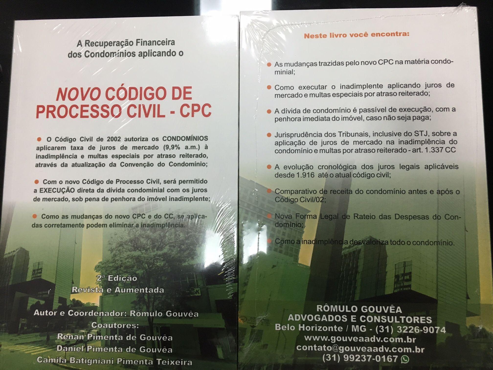 AS NOVAS LEIS DE CONDOMÍNIO NO ATUAL CÓDIGO DE PROCESSO CIVIL