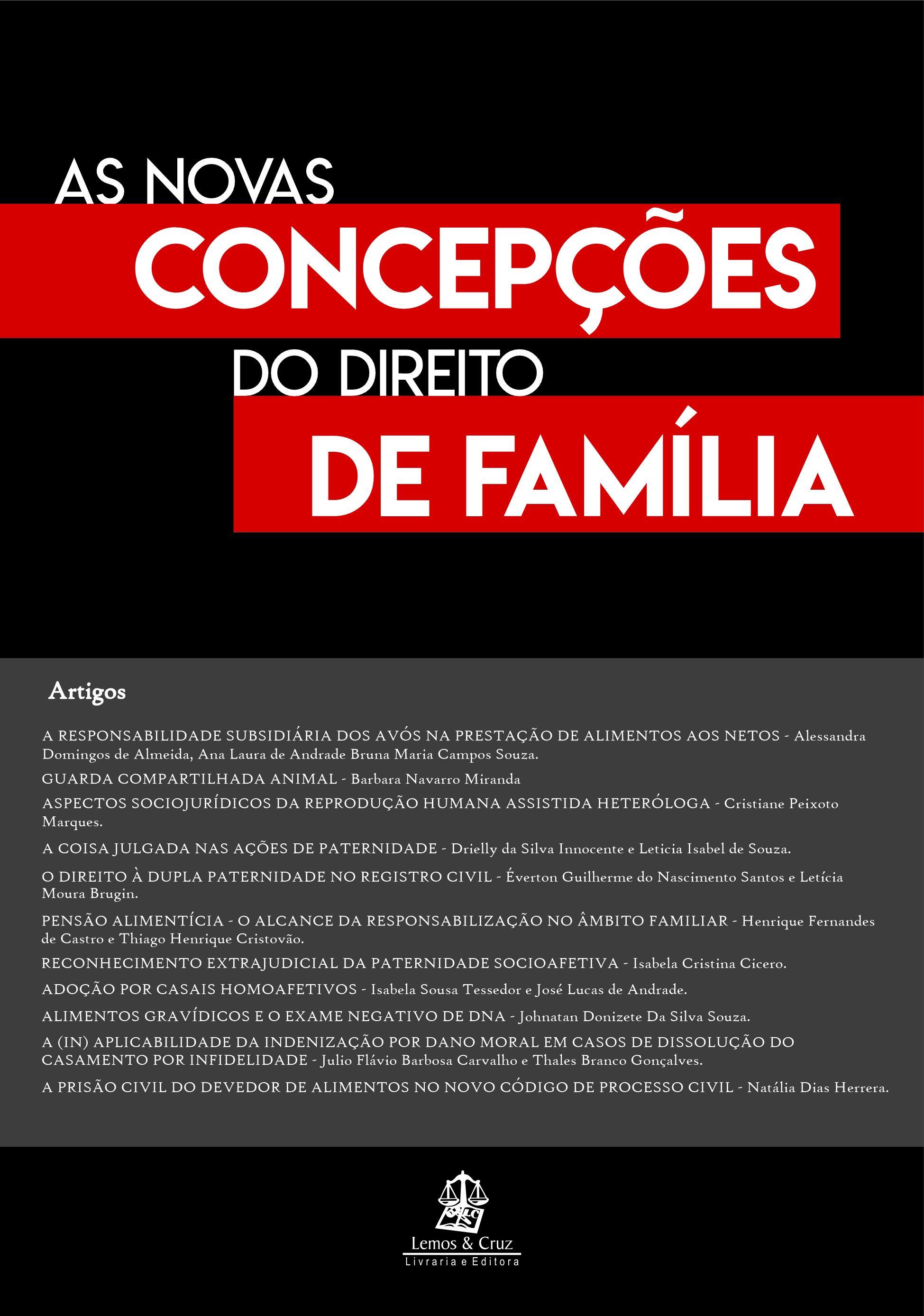 As Novas Concepções do Direito de Família
