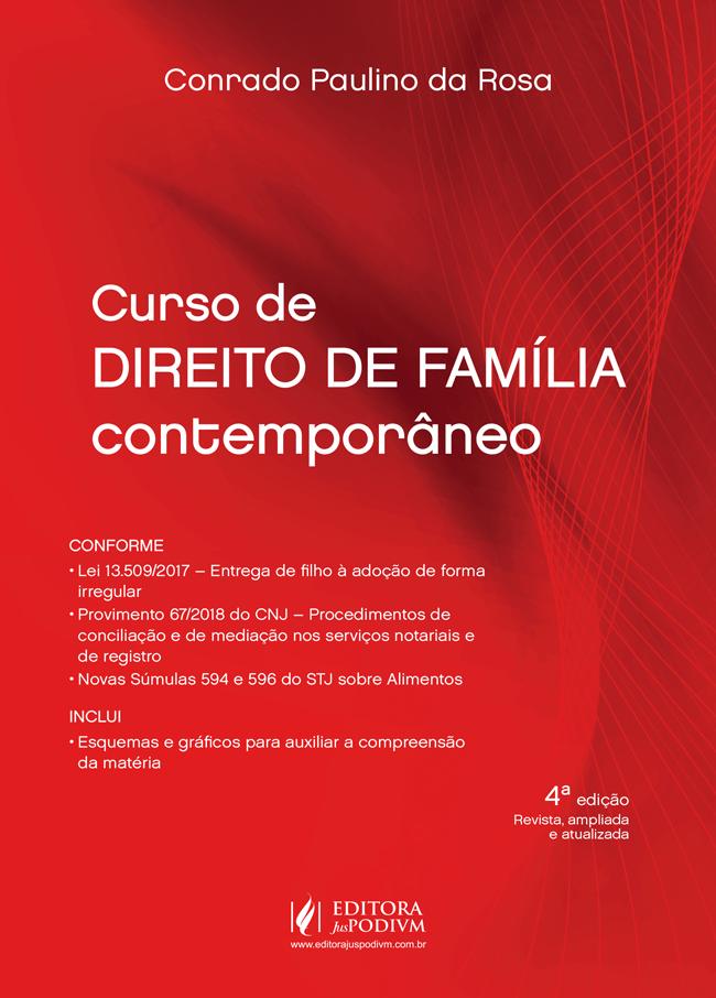 Curso de Direito de Família Contemporâneo