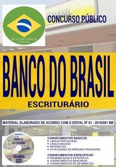 Apostilas Banco do Brasil (BR Concursos Oficial) ESCRITURÁRIO