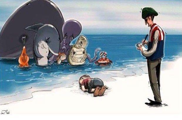 Quem chora pelo menino srio Aylan Kurdi