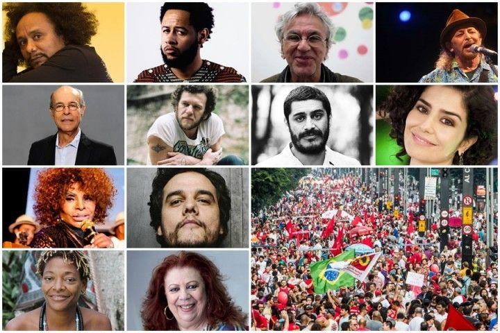 Estes artistas lhe representam Ministrio da Cultura como o ganha po dos milionrios E o Brasil