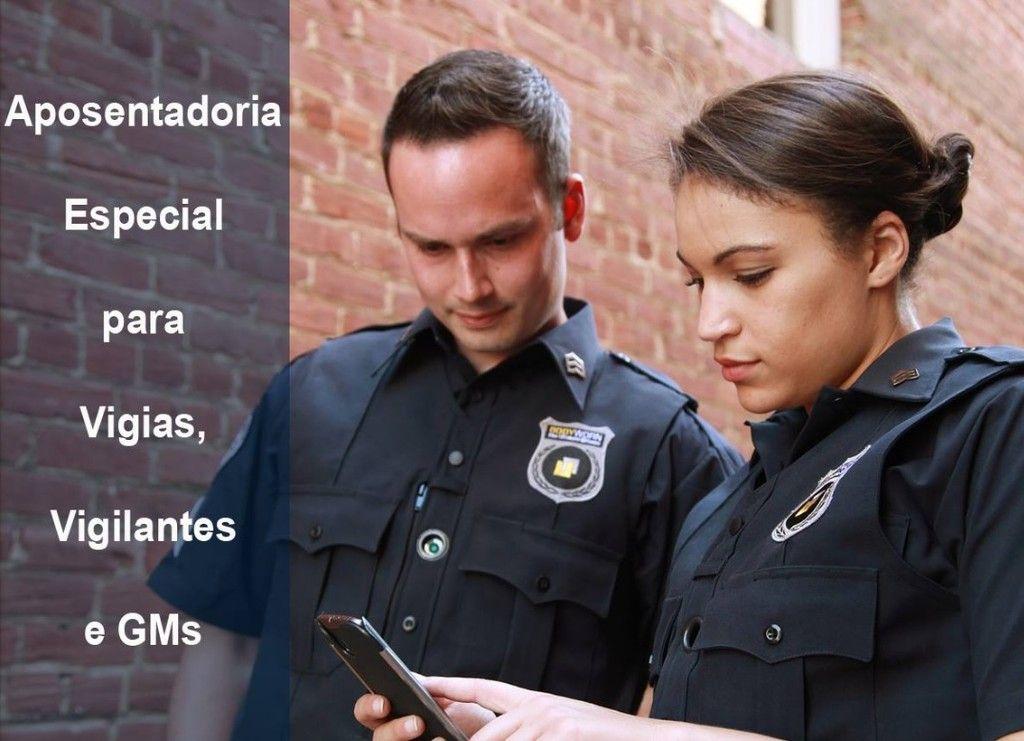 Aposentadoria Especial para vigias e vigilantes e guardas municipais