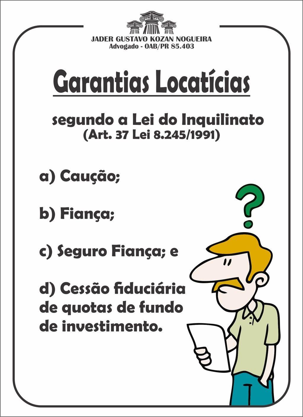 Garantias locatcias