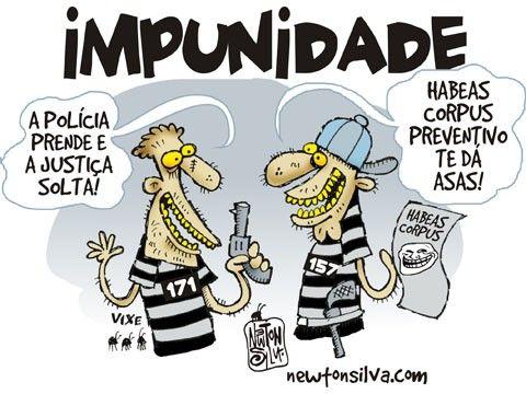 Realmente somos o pas da impunidade