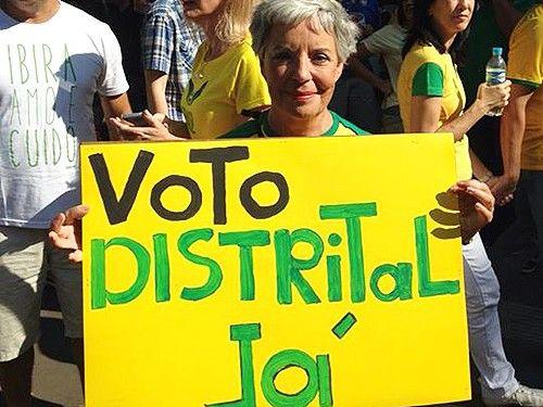 Entenda o voto distrital puro e sua importncia para o Brasil
