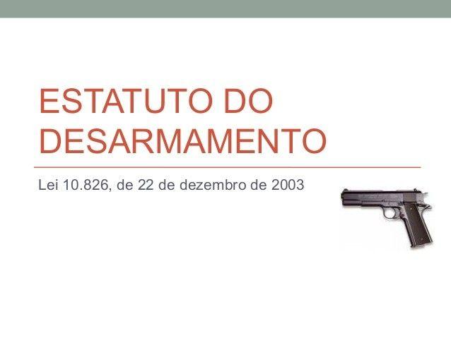 O Estatuto do Desarmamento e a anistia seletivamente ignorada